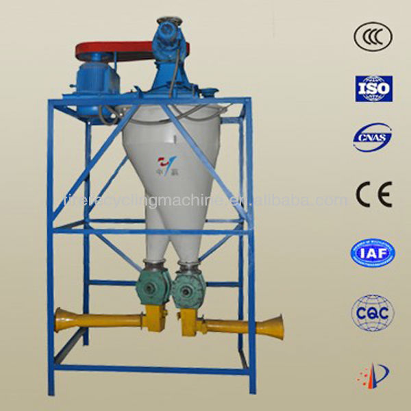 scrap radial tire fiber and nylon seperator for recycling waste tire plant