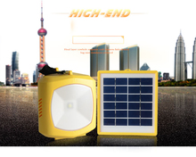 cheapest solar powered solar emergency light lanterns outdoor solar camping light with radio FM band CE ROHS approved