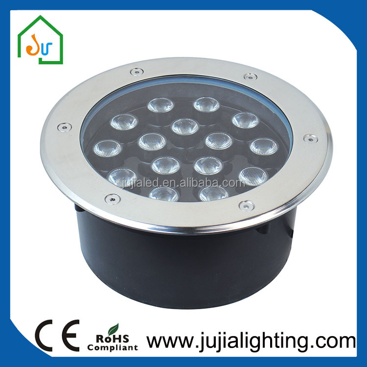 Solar IP65 decorative outdoor underground light garden LED light 12W