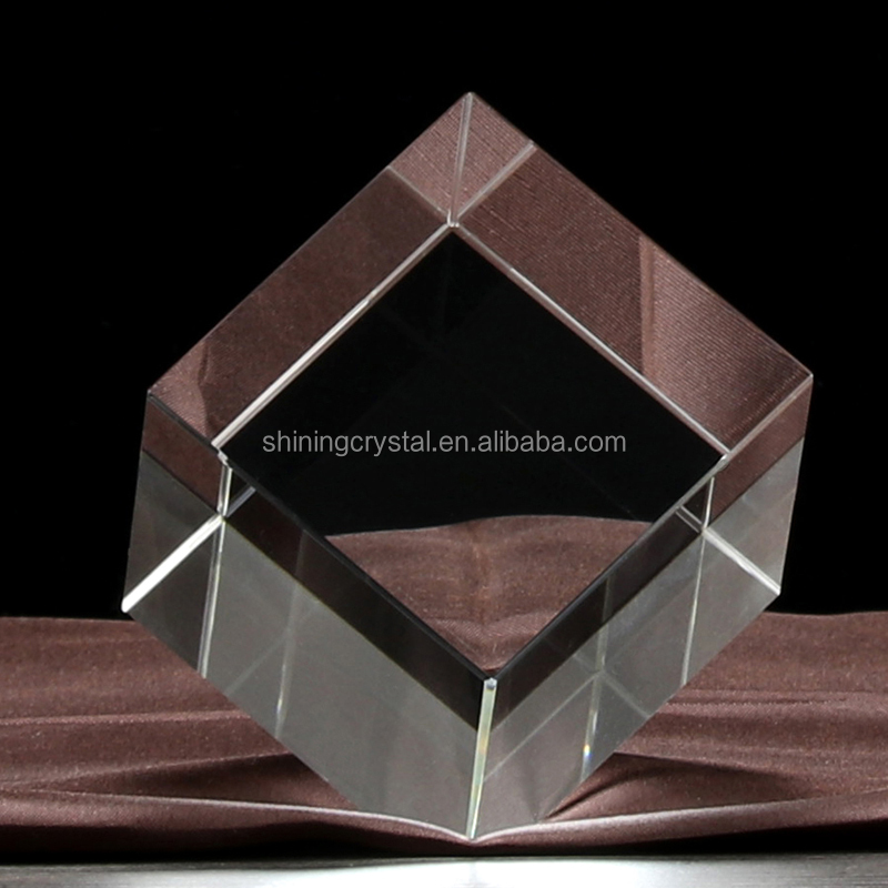 Free Sample Cut Corner Blank <strong>Crystal</strong> For 3D Laser engraving