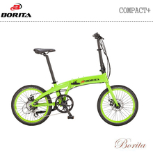 Hot Selling Green 20inch 250W Aluminum Folding Electric Bike
