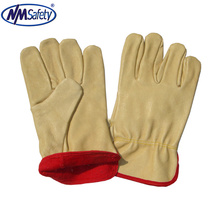 NMSAFETY leather working glove