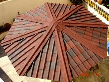 Onduvilla Bituminous Roofing Tiles