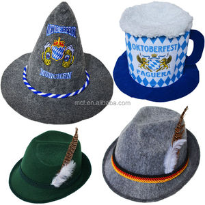 MCH-2000 Beer Party Alpine German Oktoberfest Bavarian Felt Hat