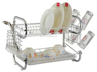 HS-WJT91602 Yongkang Haisong Top quality small MOQ Metal Kitchen Dish Rack