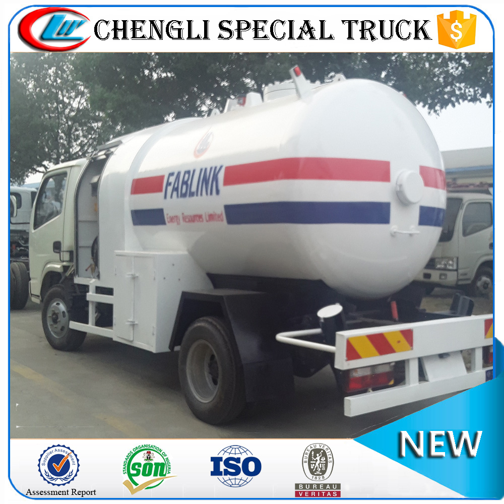 Dongfeng 4x2 4x4 Off-road Right Hand Drive LPG Dispenser Refuelling Tanker Truck