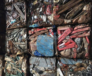Types of iron steel scrap