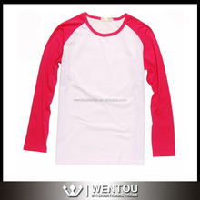 Wholesale Fashion Custom Raglan Shirt