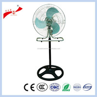 China floor stand industrial air cooling heat powered fan