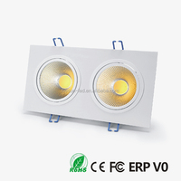 3/5 years meanwell driver 2x6W led ceiling down lights 15w lighting design modern ceiling