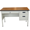 Factory direct price office workstation knocked down Office 2 person computer desk with lockable Drawers