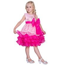 New Embroider Formal Dress Patterns For Girls Birthday Dress For Girl Of 7 Years Old