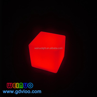 40cm Led Cube For Wedding Decoration