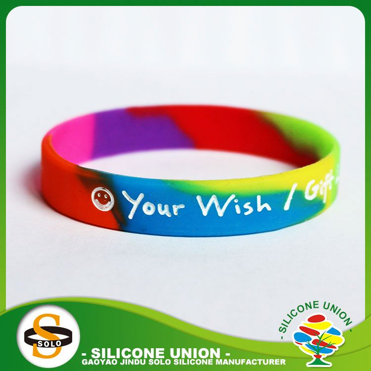 Big usa silicone bracelets for kids maker