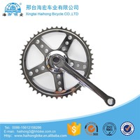 Ruder Berna Eightper Taiwan Made fixed gear bicycle 44T chainwheel and crank