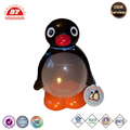 Plastic Penguin Shaped Candy Container