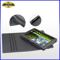 For Asus Eee Pad TF101 transformer Case Cover,With Fastener Stand Leather Case for Asus TF101