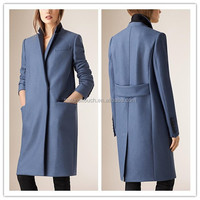 New fashion high quality oversize women cashmere wool blazer coat/ladies casual woolen coat NT138