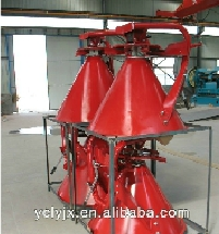 CDR broadcast fertilizer and crop seeder spreader for tractor