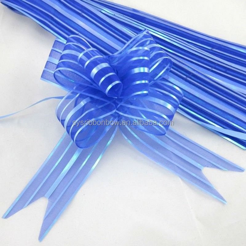 Wholesale gift packaging ribbon pull bow