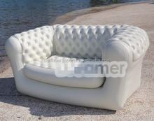 Hot sale PVC material inflatable Chesterfield sofa