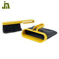 New style portable plastic design broom and dustpan