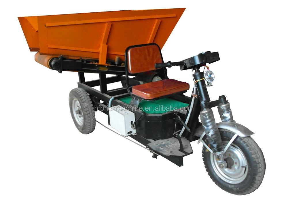 Automatic, electric,diesel engine tricycle, concrete feeding dumper