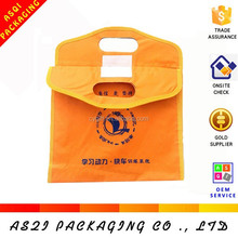high quality logo printed pp non woven fabric bag tote