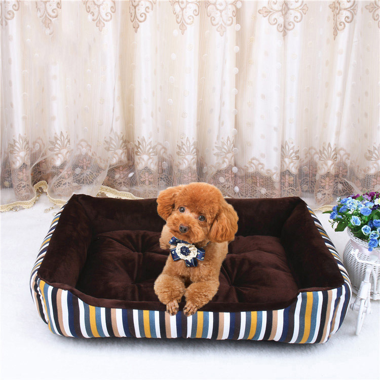 Large Luxury Memory Foam Pet Bed Orthopedic Dog Bed and Pet Sofa bed