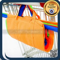 Supermarket Foldable Compact Shopping Cart Bags