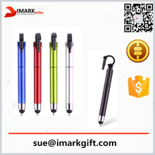 New Style Mobile Phone Support Plastic Pen With stylus Smart Phone Holder