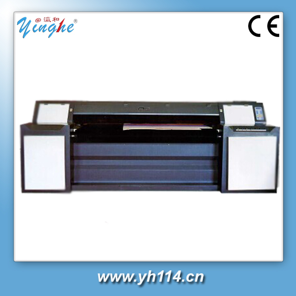 yinghe brand new lonjie uv white ink printer
