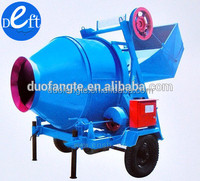 Hot Sale self loading mobile concrete mixer with self loading for sale