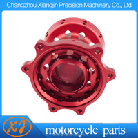 dirt bike part custom machining alloy motorcycle hub with individual packing