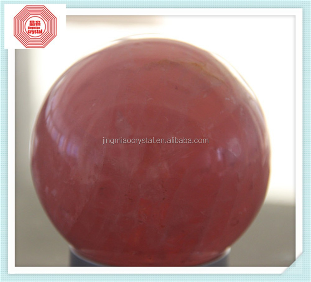 NATURAL rose CRYSTAL BALL One Stop Sourcing from China crystal Market for CrystalCrafts