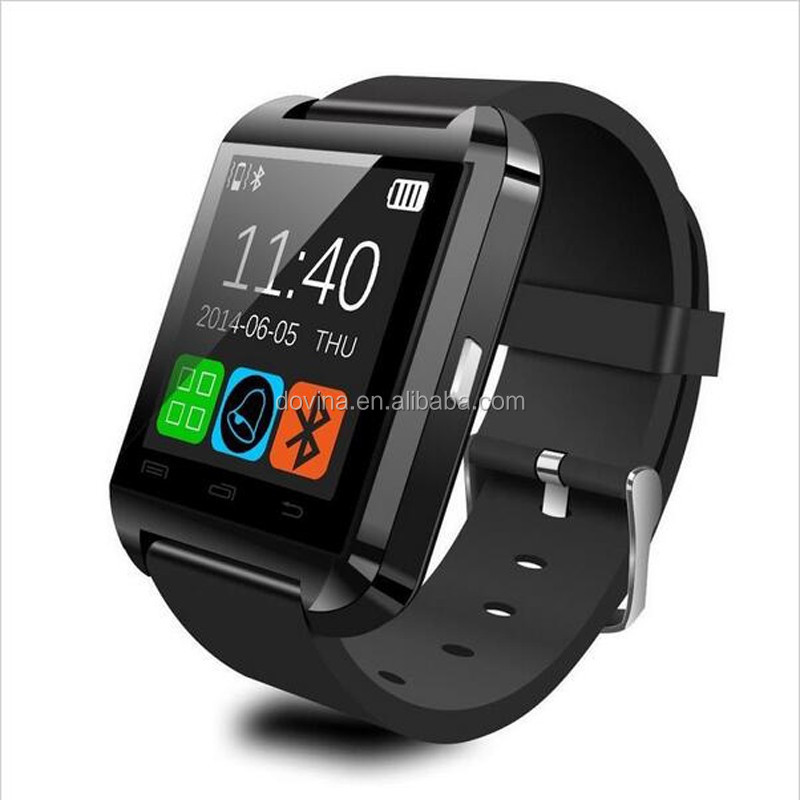 Free shipping Bluetooth 4.0 Smart Watch Bracelet for Samsung S5 / S6 / S6 Edge / Note 2 / 3 / 4, Nexus 6, Htc