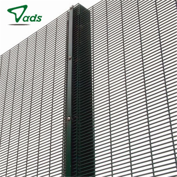 Prison Anti Climb High Security Wire Mesh Pvc Coated 358 Fencing