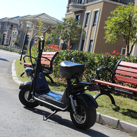 2018 hot selling halei city coco vespa electric scooter10-12 fat wheel tyre