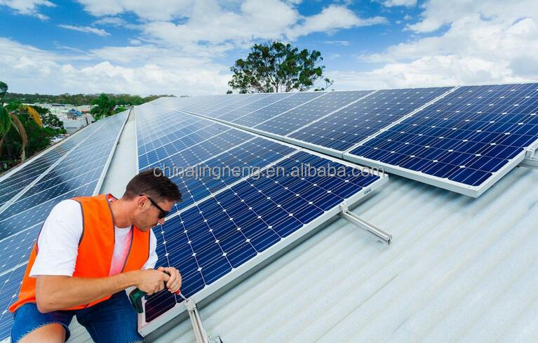 5KW High Efficiency Solar Energy System /Solar System For Home / 5KW Off Grid Solar Power System(with free shippment)