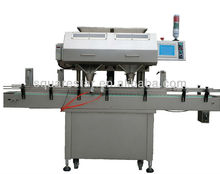 High speed and precision counting and filling machine