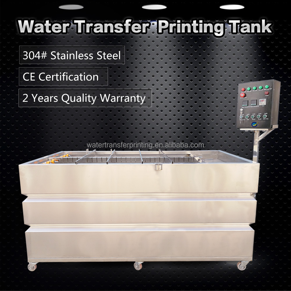 T2.0mm Stainless Steel Water Dipping Tank For Water Transfer Printing Dipping Work WTP300 Hydro Dipping Tank