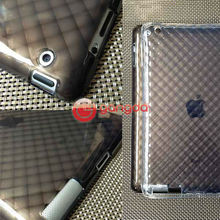 Diamond Lattice design Slim Hard Case for ipad2/4