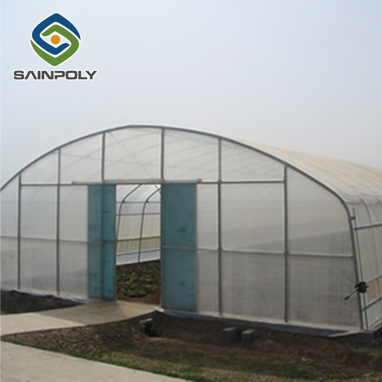 Qualified Galvanized-steel and Plastic-film Tunnel Greenhouse