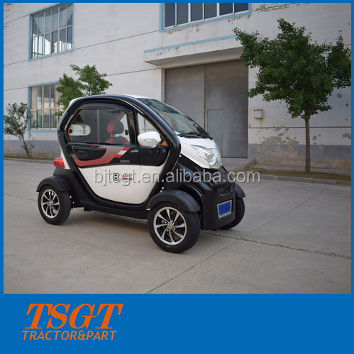 China factory supply new model nice electric car 3 passengers four wheels for narrow road and traffic jam