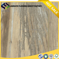 12mm new design like silk oak laminate flooring with high quality