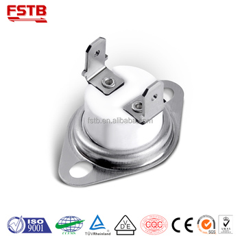 250V 10A 125V 16A KSD301 Thermostat Ceramic Thermostatic Bimetal Temperture Thermo Switch