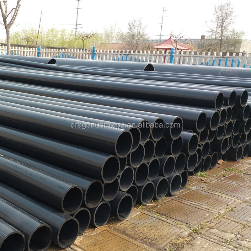 UHMWPE Sewage Pipes/ plastic UHMW PE pipe/ UHMW PE tube for process tubing & drainage pipeline to convey corrosive medium