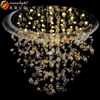 Hotel lighting chandelier chandelier colored glass chandeliers OM188