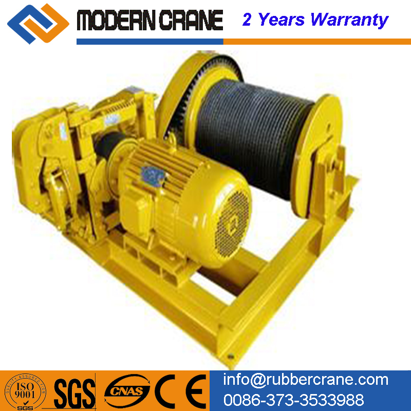 JM 1 ton electric small winch 5 ton