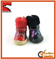 2014 Pet Dog Warm Winter Shoes,Fashion Design Dog Boots